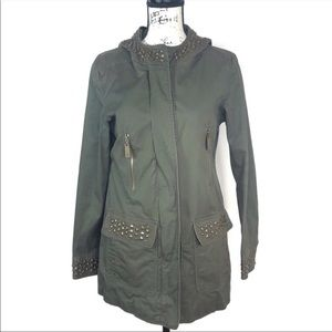 Vince Camuto Hooded Utility Jacket